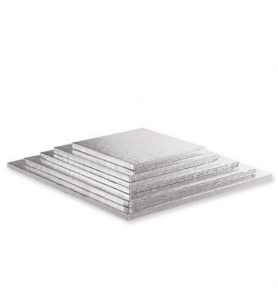 Cakeboard Silver- Sottotorta rigidi argento