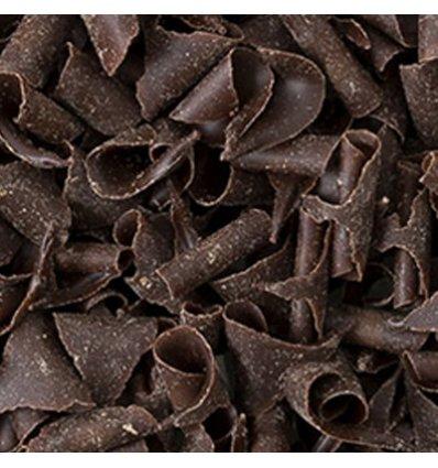 Riccioli di cioccolato fondente