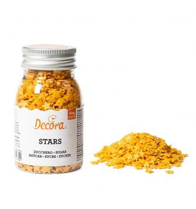 Stelline dorate in zucchero 60gr