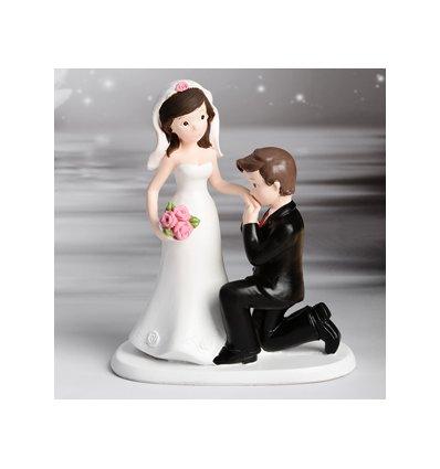 Sposi bacia mano