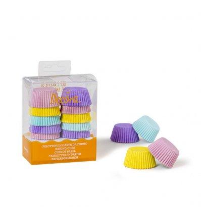 Pirottini muffin colori pastello