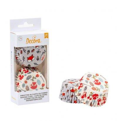 Pirottini cupcake volpe